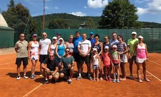 Obóz tenisowy w Bardejovské Kúpele 2019