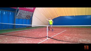 Forehand approach net