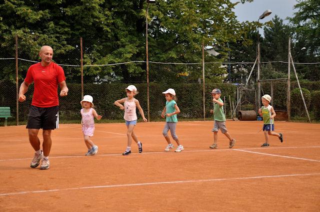 Rozgrzewka w tenisie